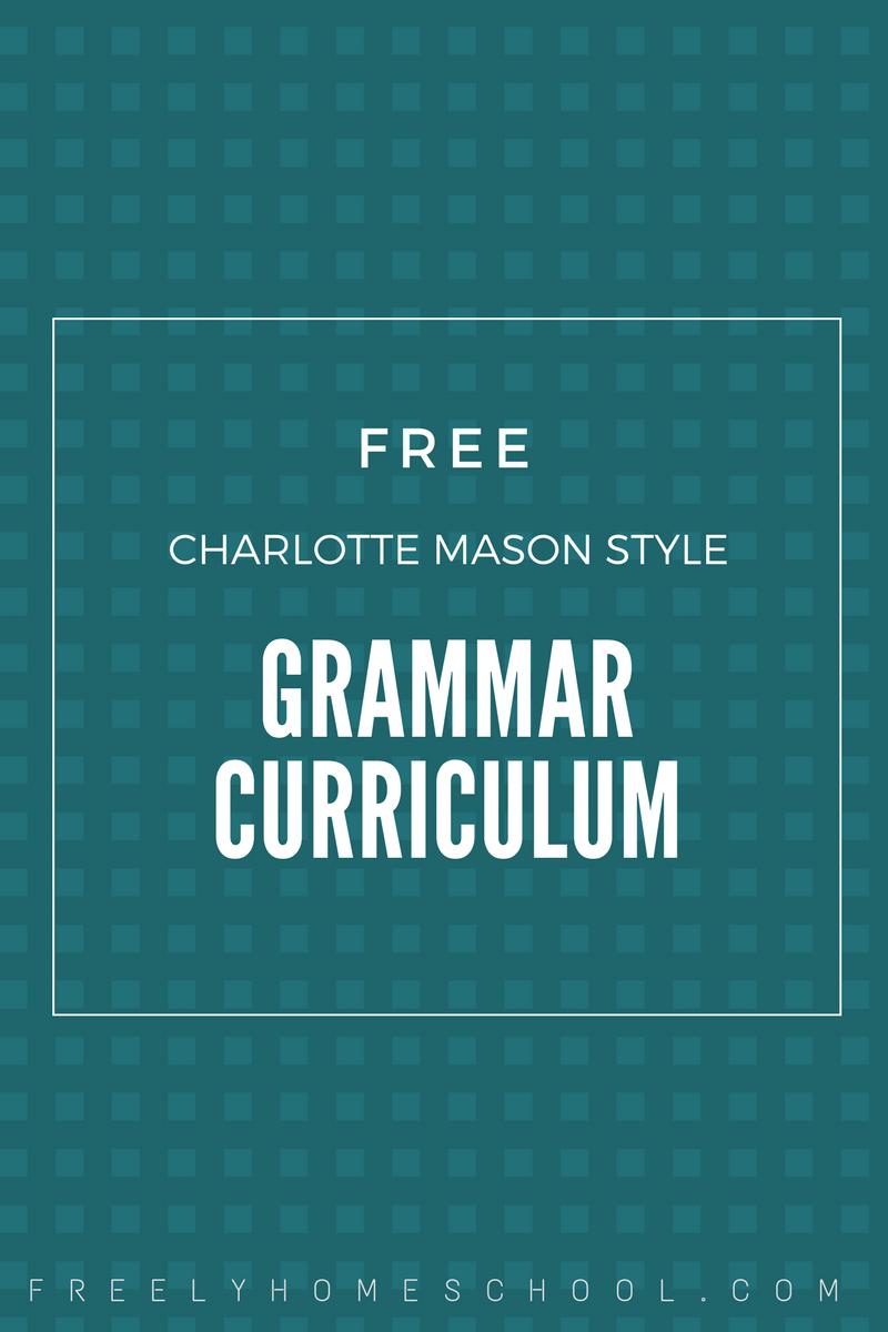 grammar Archives | Freely Homeschool